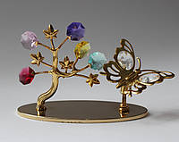"Фигурка Сваровски ""Бабочка и дерево""-символ тепла,радости и любви.."