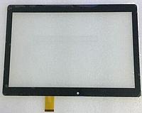 Оригинальный тачскрин / сенсор (сенсорное стекло) для Bravis NB106 (тип 2) 3G | NB107 (черный, самоклейка)