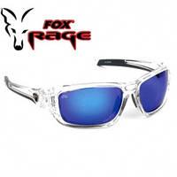 Солнцезащитные очки Fox Rage Sunglasses wraps trans / Mirror Blue / brown lense
