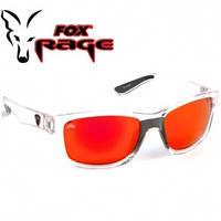 Солнцезащитные очки Fox Rage Sunglasses trans / Mirror Red fiinish / grey lense