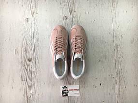 Женские кроссовки Adidas Gazelle Vapour Pink/White, фото 3