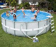 Круглый каркасный бассейн Intex 488х122 см (28322)