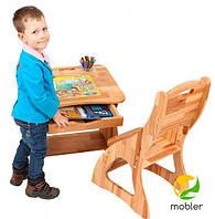 Письмовий зростаючий стіл Mobler з ящиком, 60 см