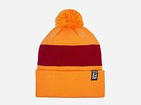 Оригинальная яркая шапка Pom. Молодежный аксессуар. Хорошее качество. Доступная цена. Дешево. Код: КГ1799