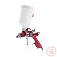 Пистолет покрасочный краскопульт HVLP RED PROF краскораспылитель 1,4 мм INTERTOOL PT-0104