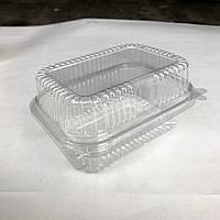 Контейнер ПЭТ (PET) 13х17х6,8 см (100 шт/уп), фото 1