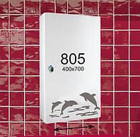 """Зеркальный шкафчик для ванной комнаты (шкафчик навесной) м""""805"""""""