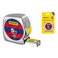 Рулетка, 5 м, FC Barcelona Limited Edition, Stanley