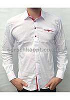 Рубашка белая для подростка (11-16 лет)