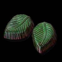 """Шоколадные конфеты ручной работы """"Мятные листочки""""."""