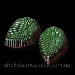 """Шоколадные конфеты ручной работы """"Мятные листочки"""", 1 шт, 20 г."""