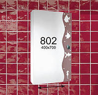 """Зеркальный шкафчик для ванной комнаты (шкафчик навесной) м""""802"""""""