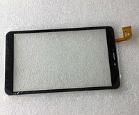 Оригинальный тачскрин / сенсор (сенсорное стекло) Bravis NB85 3G IPS (черный, тип 3, HK80DR2840, самоклейка)