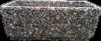 Вазон для сада «Фрегат» коричневый гранит