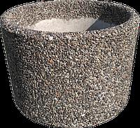 Вазон уличный «Орион» серый гранит