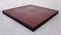 Резиновая плитка  500x500 мм, 12 мм