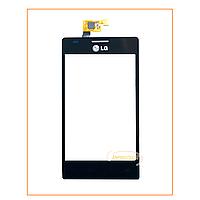 Сенсор (тачскрин) LG E615/E617 (Optimus L5) Black