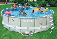 Круглый каркасный бассейн Intex 488х122 см (28326)