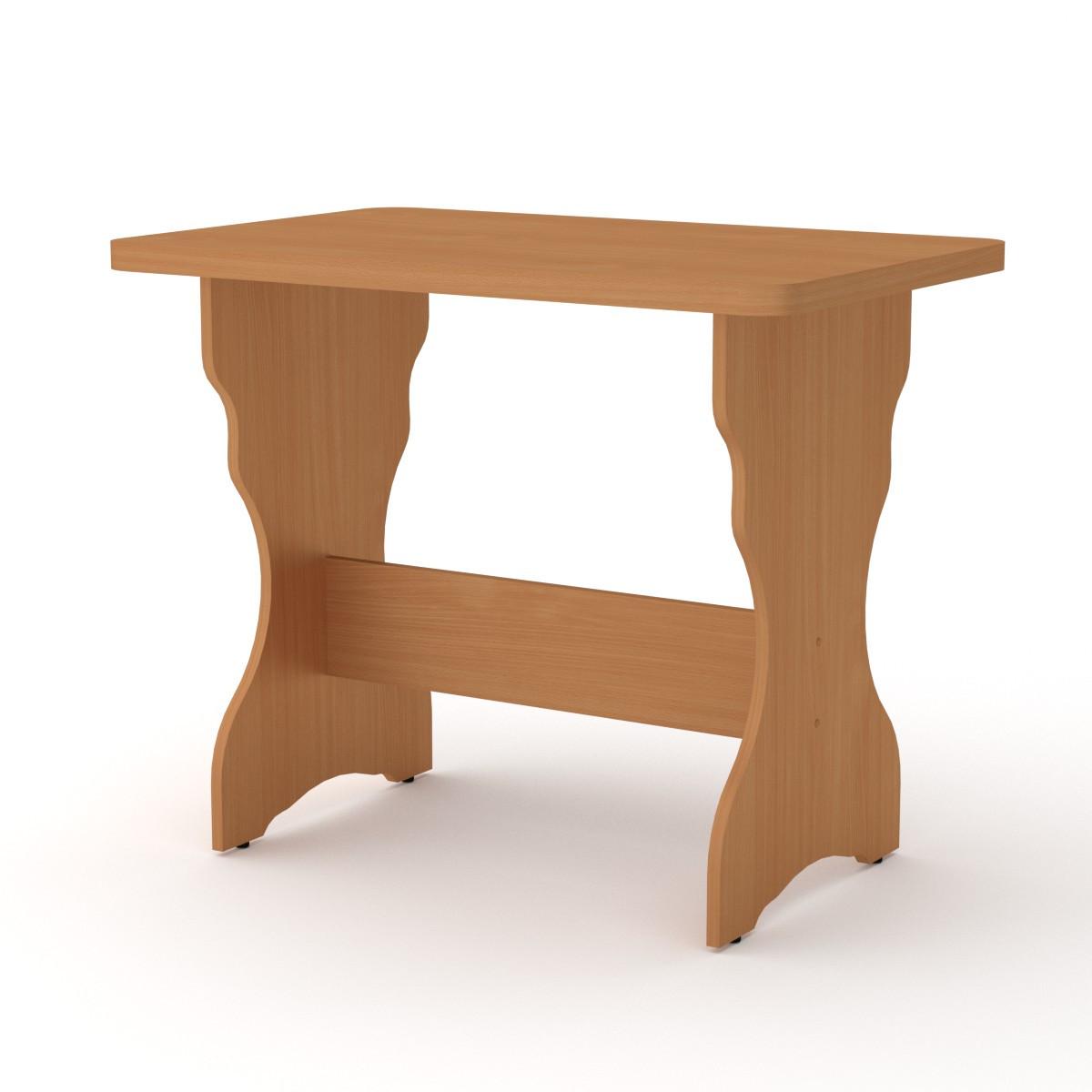 Стол кухонный КС-3 яблоня Компанит (90х59х73 см), фото 5