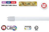 LED Tube лампа HOROZ ELECTRIC Т8 18W 1200мм 6400К (стекло) 1300Lm