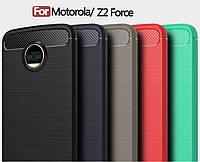 TPU чехол накладка Urban для Motorola Moto Z2 Force (5 цветов)