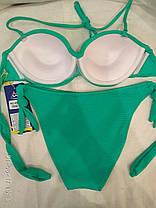 Купальник 8196-3 Триада  с двумя трусами зеленый на наши 48,50 размеры. , фото 3