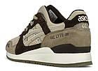 """Мужские кроссовки Asics Gel Lyte 3 """"Sand"""" (Асикс Гель Лайт 3) в стиле бежевые, фото 5"""