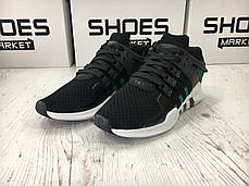 Мужские кроссовки Adidas EQT Support ADV/91-17 Sub Green/Black/White, Адидас ЕКТ, фото 3