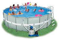 Круглый каркасный бассейн Intex 549х132 см (28332)