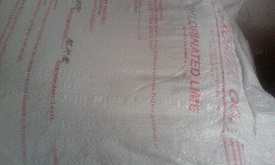 Известь хлорная 3 сорт, Болгария, 22%, 20кг - Каапри-Кировоград в Кропивницком