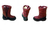 Ботинки детские из материала ПВХ (G-081)