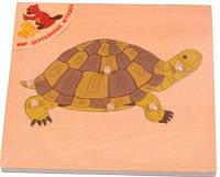 Пазл Черепаха, Мир деревянных игрушек