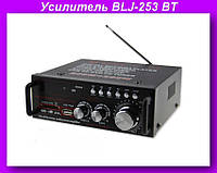 Усилитель BLJ-253 BT,Усилитель звука,усилитель мощности звука