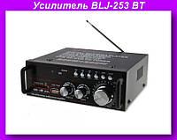 Усилитель BLJ-253 BT,Усилитель звука,усилитель мощности звука!Опт