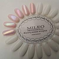 Жемчужная втирка Mileo № 001