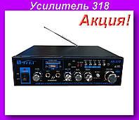 Усилитель 318,Усилитель AK-318,Усилитель AK-318 аудиосистемы!Акция