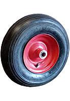 Колесо пневматическое на стальном диске 4,00-6, ось 20 мм,4006201