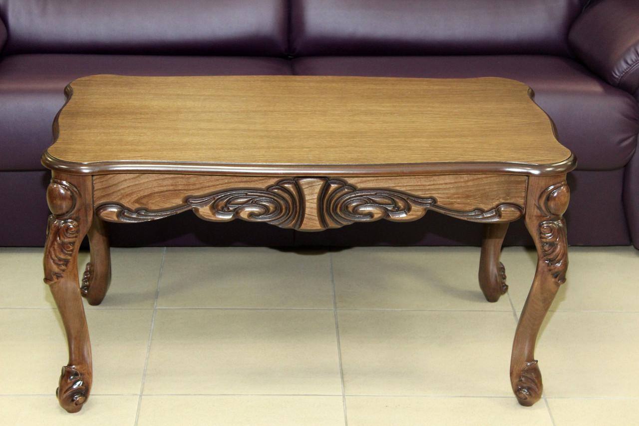 Стол журнальный деревянный серии 2-2-14-181