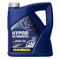 Трансмиссионное масло Mannol Hypoid Getriebeoil 80w90 GL-5 4л