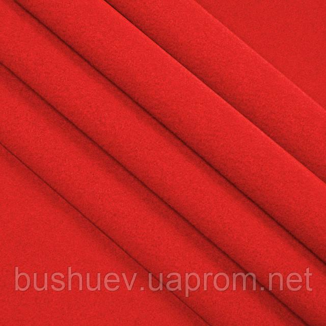Ткань пальтовая полушерстяная однотонная (6833)