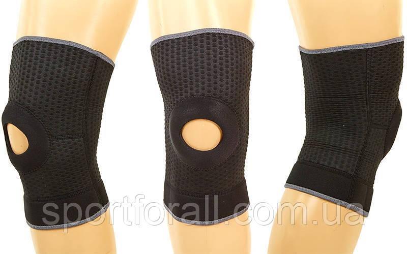 Наколенник (фиксатор коленного сустава) с открытой коленной чашечкой  GS-1460