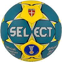 Мяч гандбольный Select Match Soft Green (зелен/желтый), размер 3