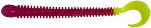 """Силикон Big Bite Baits Ring Worm 4"""" Purple Chart (1838.00.77 RW425)"""
