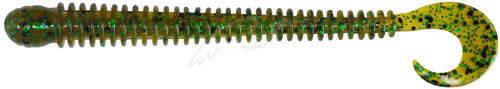 """Силикон Big Bite Baits Ring Worm 4"""" Pumpkin Pepper Green (1838.00.71 RW405)"""