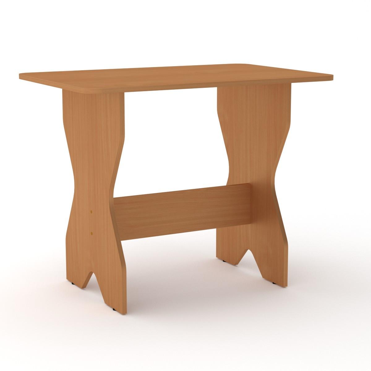 Стол кухонный КС-1 бук Компанит (90х59х72 см)