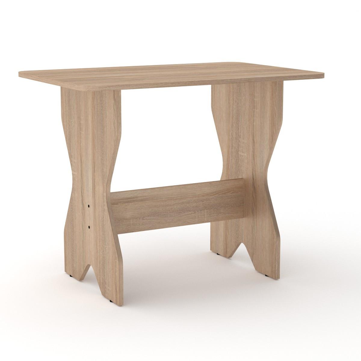 Стол кухонный КС-1 бук Компанит (90х59х72 см), фото 3