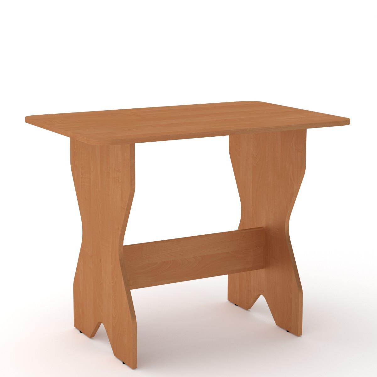 Стол кухонный КС-1 бук Компанит (90х59х72 см), фото 6