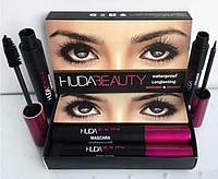 Набор для макияжа глаз Huda Beauty Mascara Eyeliner