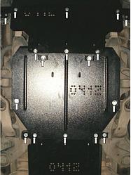 Захист двигуна Audi Q7 2006-2015 (Ауді)