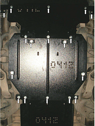 Защита двигателя Audi Q7 2006-2015 (Ауди)